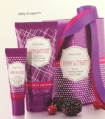 Berry & Cream Body Lotion and Lip Balm Set